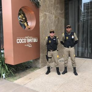 Prestação de serviços de segurança e vigilância