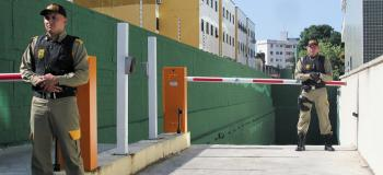 Controlador de acesso estacionamento