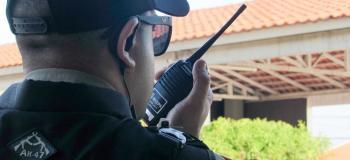 Segurança armada em condominio residencial